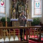 ... in der dortigen Kirche (© Herr Mag. Bernhard Wagner).