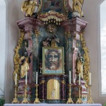 Am Hochaltar der Kirche ... (© Herr Mag. Bernhard Wagner)