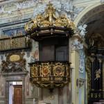 Eindrucksvolle Kanzel der Wallfahrtskirche (© Herr Mag. Bernhard Wagner).