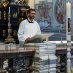 Frater Nikolaus bei einer kurzen Ansprache (© Herr Mag. Bernhard Wagner).