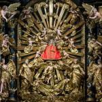 Madonna vom Frauenberg am Hochaltar umgeben von zahlreichen Putten (© Herr Mag. Bernhard Wagner).