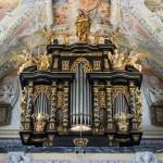 Prächtige Orgel der Wallfahrtskirche (© Herr Mag. Bernhard Wagner).