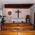 Das Innere der Hauskapelle (© Herr Mag. Bernhard Wagner).
