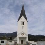 Die Filialkirche St. Johann von Westen her gesehen (© Herr Mag. Bernhard Wagner).