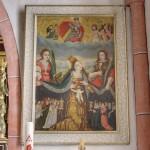Bildnis der Schutzmantelmadonna beim rechten Seitenaltar (© Herr Mag. Bernhard Wagner).