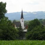 Die Filialkirche St. Jakob von Nordosten her gesehen (© Herr Mag. Bernhard Wagner).