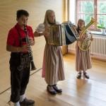 Drei Jungmusikanten aus Bad St. Leonhard im Lavanttal ... (© Herr Mag. Bernhard Wagner)