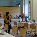 Zudem gab es verschiedene Texte zu hören, speziell vorgetragen von einem Gast aus Bayern, aber auch einige Rätsel von Frau Wuggenig (© Herr Mag. Bernhard Wagner).
