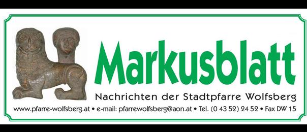 Markusblatt Titelbild