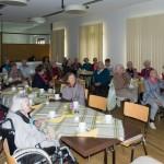 Im Rahmen eines gemütlichen Beisammenseins der Seniorinnen und Senioren im Refektorium des Hauses St. Benedikt ... (© Herr Mag. Bernhard Wagner)