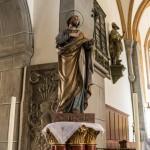 Statue des Hl. Josef etwas schräg von unten (© Herr Mag. Bernhard Wagner).