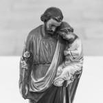 ... und hier in näherer Ansicht. Die Figur stammt aus einer Nische eines der Pfeiler des Gotteshauses (© Herr Mag. Bernhard Wagner).