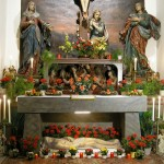 Eine etwas nähere Ansicht des Heiligen Grabes (© Herr Mag. Bernhard Wagner).