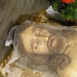 Der Kopf des Heilands im Heiligen Grab (© Herr Mag. Bernhard Wagner).