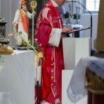 ... und schließlich eine kurze Predigt (© Herr Mag. Bernhard Wagner).