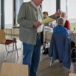 Herr Kurt Weitlauer, Leiter der Seniorenrunde, ... (© Herr Mag. Bernhard Wagner)