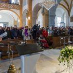Blick in die Markuskirche zu den Anwesenden (© Herr Mag. Bernhard Wagner).