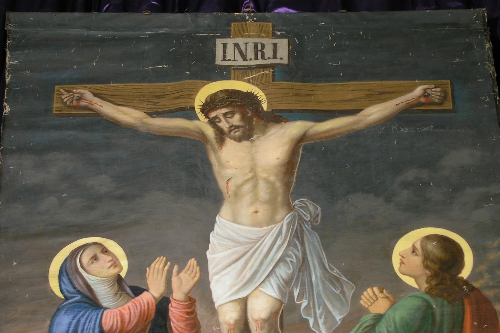 Kreuzigungsszene