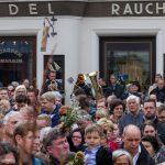 Das Bläserquartett erneut im Einsatz (© Herr Mag. Bernhard Wagner).