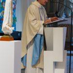 Der Kaplan bei der Predigt (© Herr Mag. Bernhard Wagner).