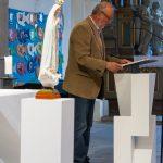 Herr Fritz Richter liest die Lesung (© Herr Mag. Bernhard Wagner).