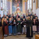 Auch der anschließende Gottesdienst wird vom AGV gesungen (© Herr Mag. Bernhard Wagner).