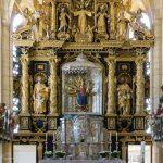 Eine nähere Ansicht des Hochaltars mit der Madonna von Maria Buch (© Herr Mag. Bernhard Wagner).