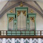 Die Orgel der Wallfahrtskirche (© Herr Mag. Bernhard Wagner).