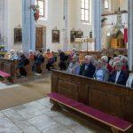 Die Seniorengruppe während der traditionellen Maiandacht (© Herr Mag. Bernhard Wagner).