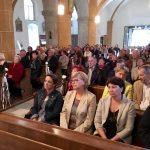 ... sowie von vorne zur versammelten Gemeinde (© Katholische Pfarre Wolfsberg).