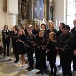 Der ausführende Frauenchor ... (© Katholische Pfarre Wolfsberg)