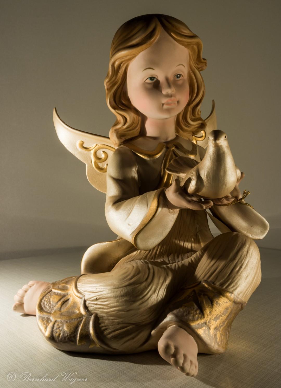 Der Engel und die Taube des Hl. Geistes
