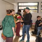 Ein herzliches Dankeschön an Frau Monika Loibnegger (links) und Jugendleiterin Frau Veronika Schönhart, BEd die viele Jugendliche im Avalon begleitet haben (Aufnahme: Herr Christoph Isopp; © Katholische Jugend Lavanttal).
