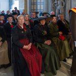 Die Frauen und Männer der Brauchtumsgruppe Wolfsberg-Lavanttal (© Herr Mag. Bernhard Wagner).