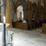 Blick in den Kirchenraum gegen Ende der Andacht (© Herr Mag. Bernhard Wagner).