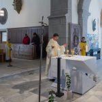 ... und etwas später die Präfation am Beginn des Eucharistischen Hochgebetes (© Herr Mag. Bernhard Wagner).