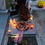Grab unseres verstorbenen Stadtpfarrmessnerehepaars Herrn Adolf und Frau Elfriede Koschier (© Herr Mag. Bernhard Wagner).