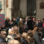 Chor der Volksschule Wolfsberg (© Kaplan Mag. Dr. Christoph Kranicki).