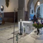 Ein Eingangslied zu Ehren Mariens wird gesungen (© Herr Mag. Bernhard Wagner).