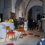 ... feiert gemeinsam mit zahlreichen Gläubigen die Kinderchristmette (© Herr Mag. Bernhard Wagner).