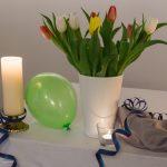 Die Tulpen sind bereits eine Vorahnung des kommenden Frühlings (© Herr Mag. Bernhard Wagner).