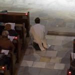 Der Diakon während der Anbetung (© Herr Mag. Bernhard Wagner).