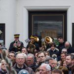Ein Bläserquartett der Stadtkapelle Wolfsberg umrahmt die Palmweihe musikalisch (© Herr Mag. Bernhard Wagner).