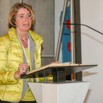 ... bei ihrem Vortrag (© Herr Gerhard Pulsinger).