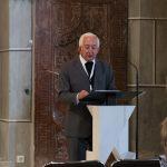 ... spricht zu den Versammelten (© Herr Mag. Bernhard Wagner).