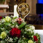 Gefäß mit der Reliquie von Papst Johannes Paul II. ... (© Herr Mag. Bernhard Wagner)