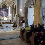 ... während der Katechese im Anschluss an den Lobpreis mit Frau Eva-Maria Kölbl-Perner (© Herr Mag. Bernhard Wagner).