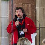Regionaljugendleiter Herr Jakob Mokoru, BEd, Sprecher beim 2. Fest der Barmherzigkeit (© Herr Mag. Bernhard Wagner).