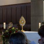 ... mit dem Leib Christi in der Monstranz ... (© Herr Mag. Bernhard Wagner)