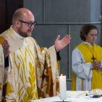 Die Präfation am Beginn des Eucharistischen Hochgebetes (© Herr Mag. Bernhard Wagner).